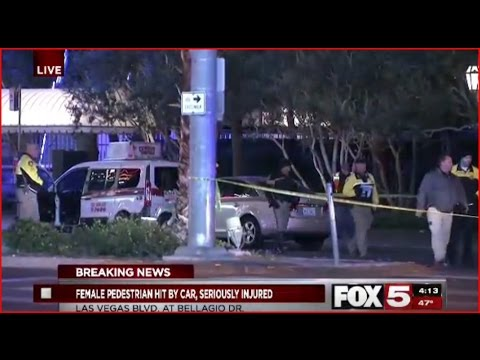 Breaking News: Pedestrian Hit on Las Vegas Strip (Part 1)