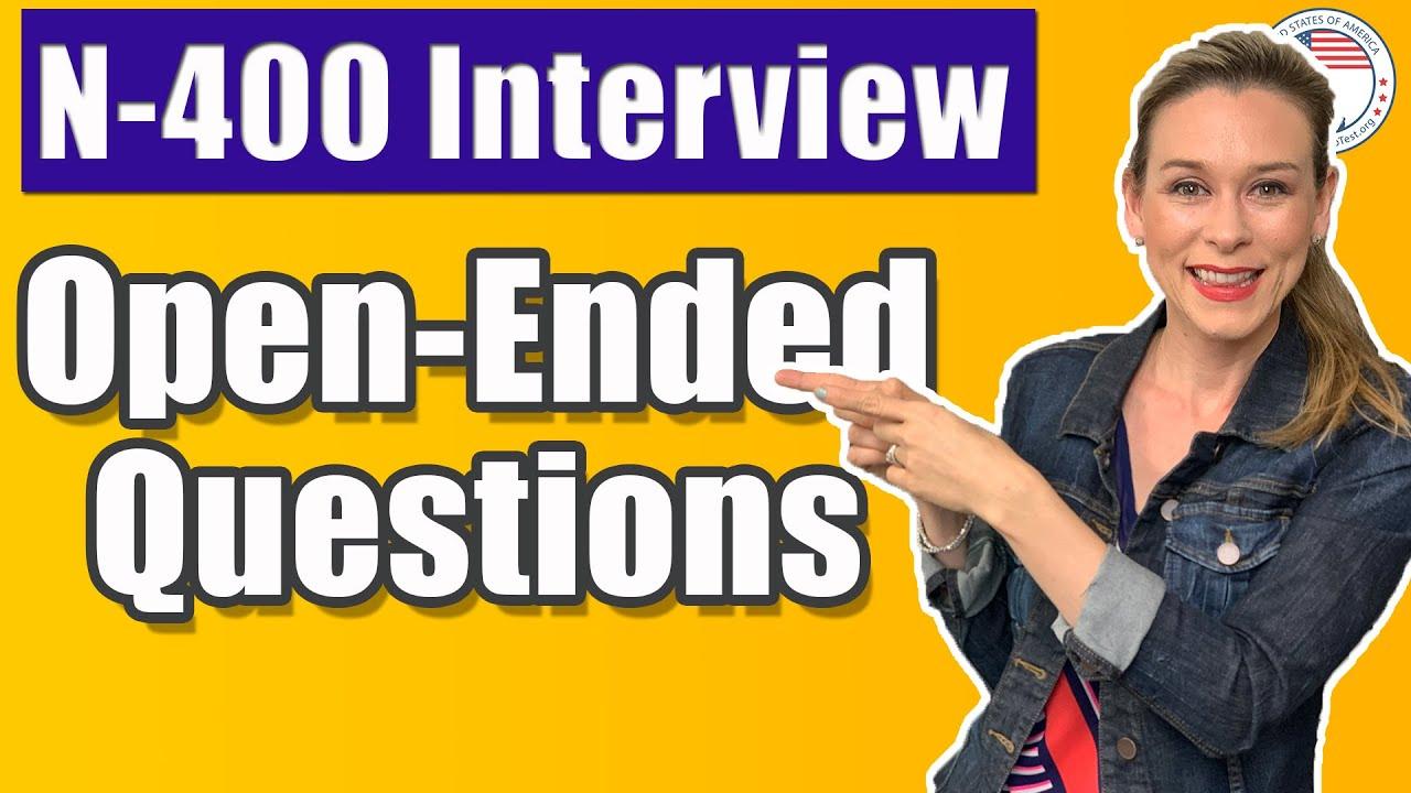 USCIS Citizenship Interview Opening Questions | USCitizenshipTest.org