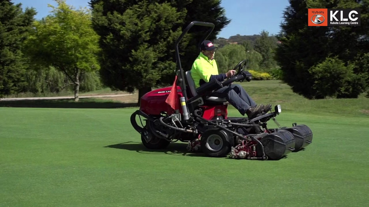 Baroness at Hidden Valley Golf Course - LM 315 GC Greens Mower