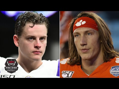 cfb-national-championship-debate:-joe-burrow-or-trevor-lawrence?-|-college-football-playoff