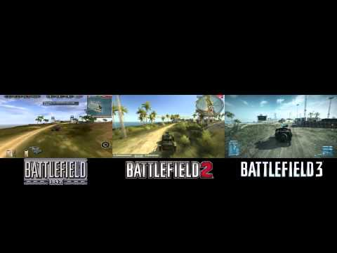 Wake Island Evolution: Battlefield 1942 vs. Battlefield 2 vs. Battlefield 3 by Threatty