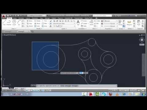 الدرس الثاني شرح واجهة برنامج اوتوكاد  وميزاته الجديده في نسخة 2014