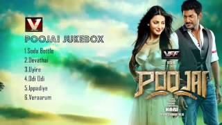 Poojai Jukebox | Yuvan Shankar Raja | Vishal, Shuti Haasan | Hari