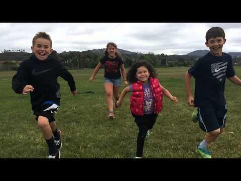 Tkeiaho cousin running