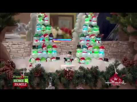 hallmark holiday decor on home family youtube - Hallmark Christmas Home Decor