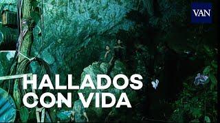 Hallados con vida los 12 niños desaparecidos en una cueva de Tailandia