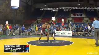 132 Cons. Round 3 - Devante Goodman (Washington) vs. Andrew Sanchez (California)