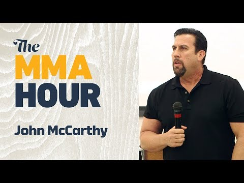 John McCarthy Details Neck Injury that Briefly Left Him Paralyzed on One Side of His Body