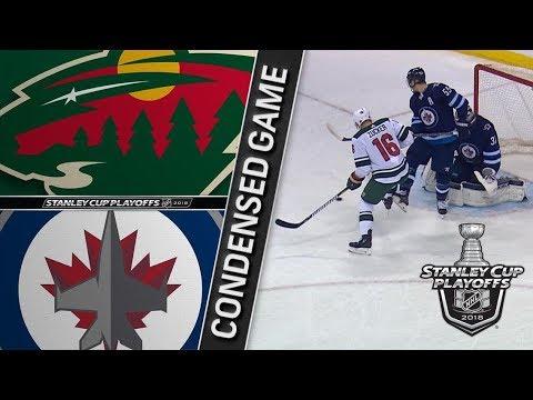 Minnesota Wild vs Winnipeg Jets R1, Gm2 apr 13, 2018 HIGHLIGHTS HD