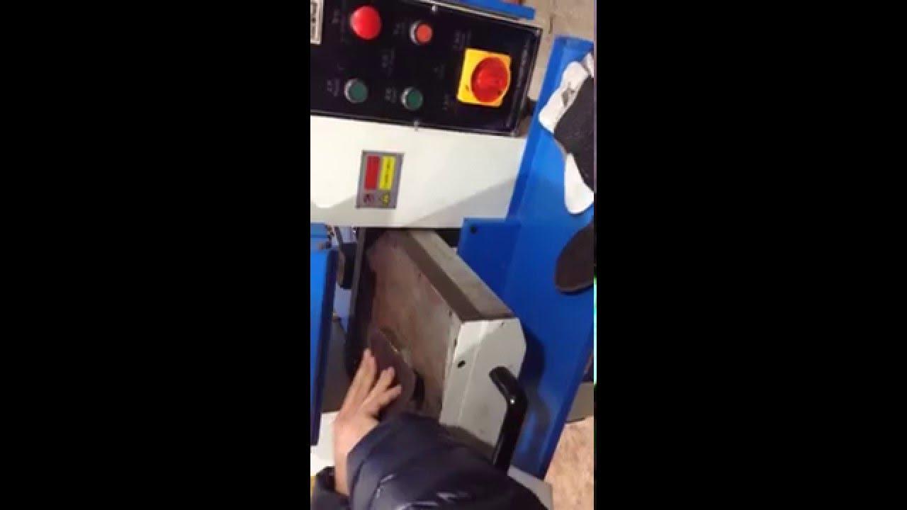 Пресс горячего тиснения Goldpress4+ - YouTube