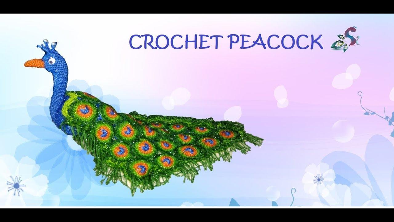 Paco the Peacock crochet pattern - Amigurumi Today | 720x1280