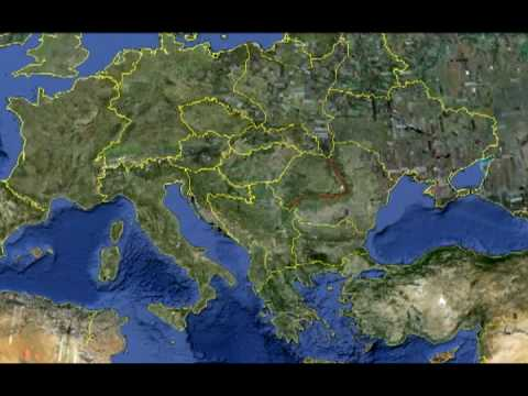 google mapa evrope Google Earth   New European map !   YouTube google mapa evrope
