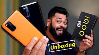 iQOO 3 Unboxing and First Impression ⚡⚡⚡ 5G and SD 865 Gaming Monster!