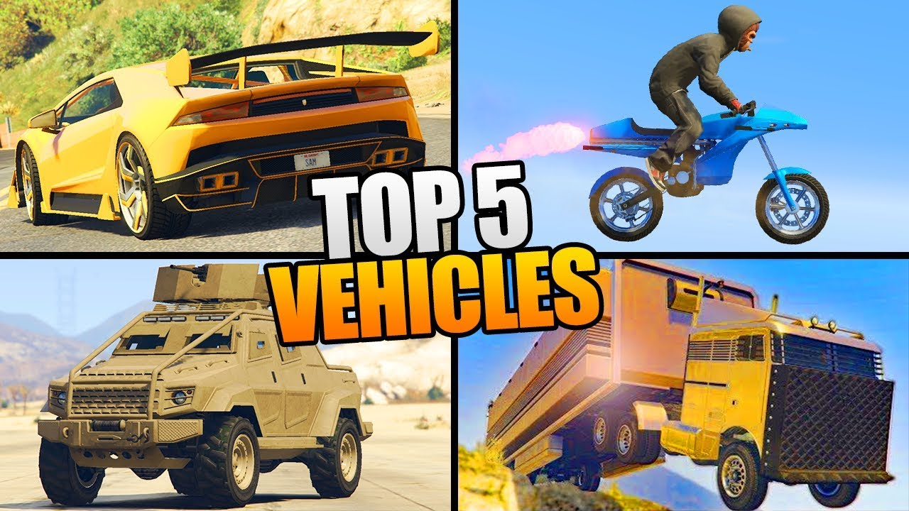 5 VEHICLES YOU NEED TO BUY IN GTA 5 ONLINE! - YouTube