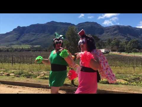 Vergeet van my by Irene-Louise van Wyk Music Video - Flowerpuff Girls parody