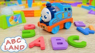 Thomas in ABC Land #3 | My First Railway Pals | Thomas and Friends