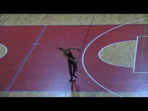 Twirling EC 2017 Porec - Finals dance danique visker
