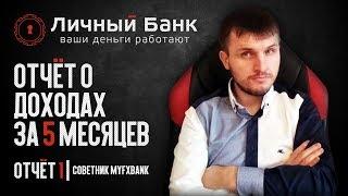 Отчет #1 | Торговый робот MyFxBank Приносит Прибыль уже 5-й месяц!