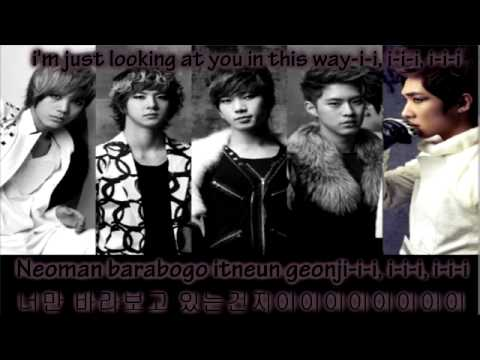 MBLAQ - Stay ~ Lyrics on screen [Eng. || Rom. || Han.]