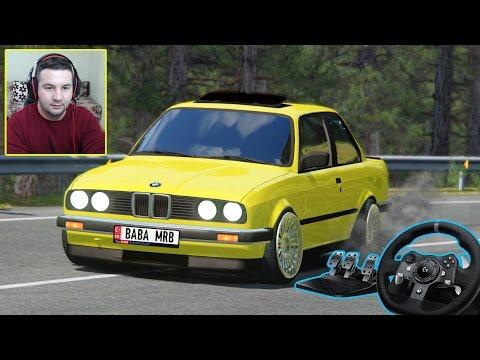 BMW E30!!! VUUUTUTUTU!!! ÇAKAL E30 - ASSETTO CORSA 👍 LOGİTECH G920