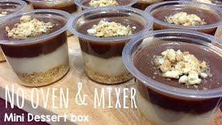 Cokelat Caramel Dessert Box Kekinian Tanpa Oven