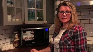 Panasonic Microwave Steam Oven blogger review