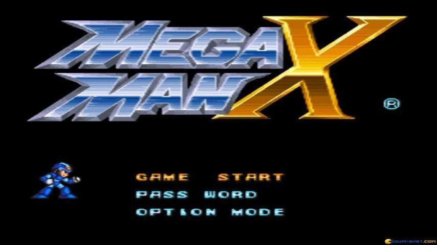 Mega Man X shooter for DOS (1995) - Abandonware DOS
