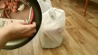 Заказ подгузников в Е-дисконте + обзор сковородки и набора салатников
