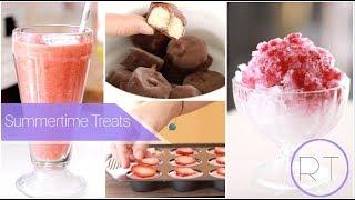 Summer Treats  (Shaved Ice, Frozen Yogurt Bites, Frozen Bananas)