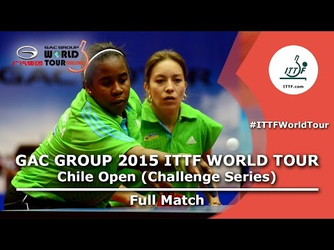 2015 Chile Open FULL MATCH: ORTEGA Daniela/SILVA Ligia vs ME