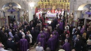 Missa Solene no Templo do Senhor do Bom Jesus da Cruz