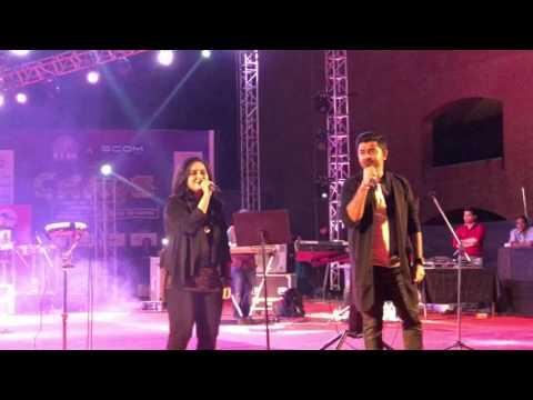 Bezubaan Kab Se | Sachin Jigar live during Chaos 2017 at IIM Ahmedabad