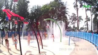 Харьков, парк горького, водный аттрацион