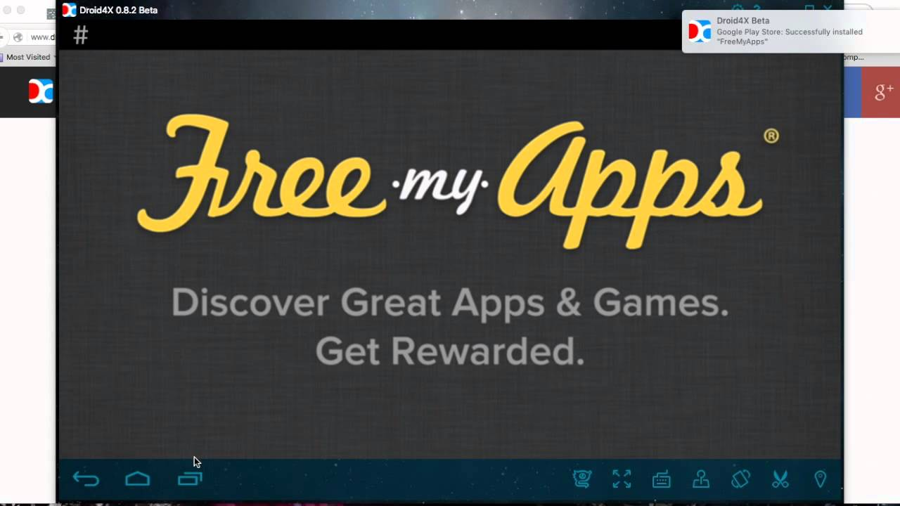 Play/ Use android apps on Mac [Droid4X]