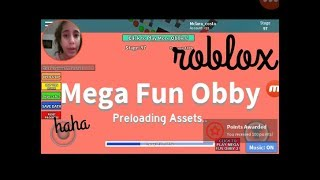 Roblox Mega Fun Obby #1 ' Ana en direct 479