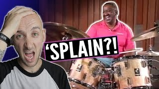 "Drummer REACTS to LEGENDARY Funny drum video. OG Bernard ""Pretty"" Purdie"