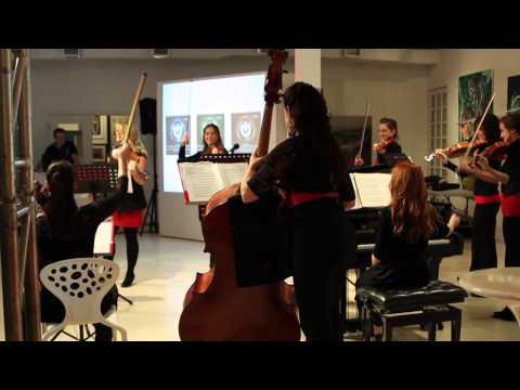 Lancement Angèle Dubeau - Game Music