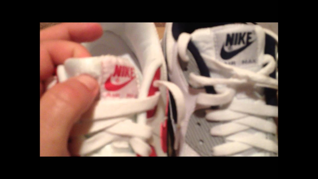 5000c76d658 Air Max 90 Essential Review + Real Vs. Fake Comparison - YouTube