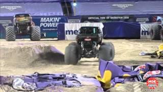 2014/02/08 美國-愛馬力機油 怪物卡車競賽專屬團隊 在佛羅里達州-邁阿密的永明體育場參賽紀錄
