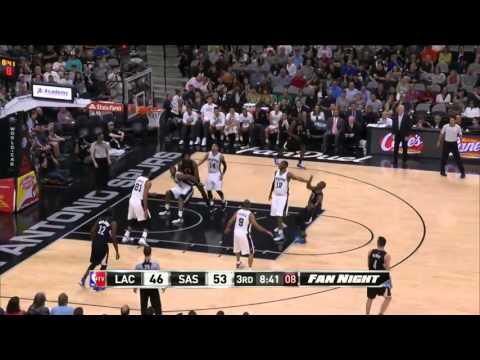 Los Angeles Clippers vs San Antonio Spurs   March 15, 2016   NBA 2015-16 Season