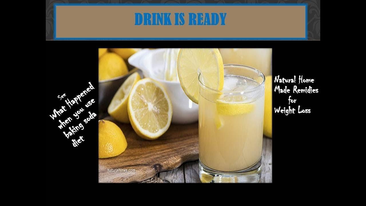 diet using lemon baking soda water