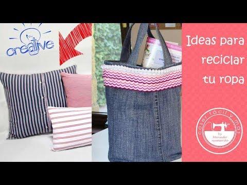 Ideas para reciclar ropa usada (recopilatorio)