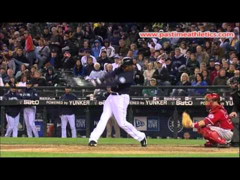 c45b42735f Ken Griffey Jr. Slow Motion Baseball Swing - Hitting Mechanics Hall of Fame  MLB Power