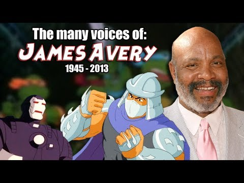 Many Voices of James Avery Animated Tribute  Teenage Mutant Ninja Turtles  Shredder