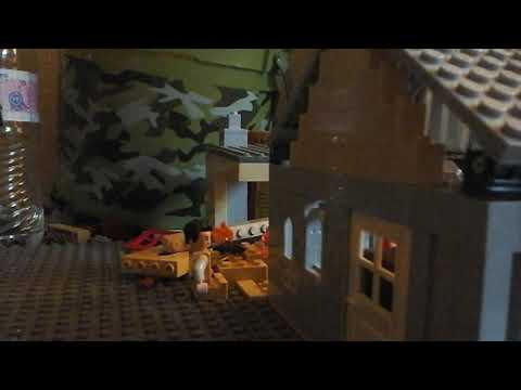Aftermath of: lego WW2 British soldiers vs stug lll