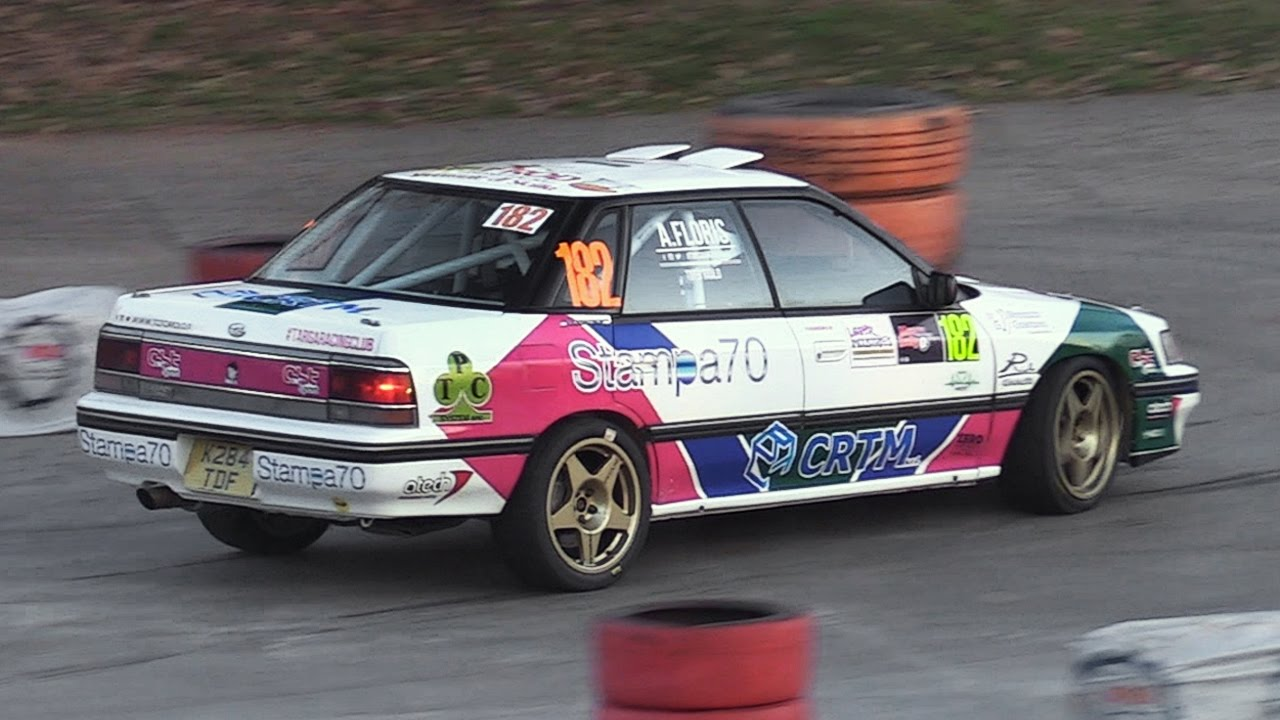 Subaru Legacy Rs Rally Group A Boxer Engine Turbo Lovely Sounds