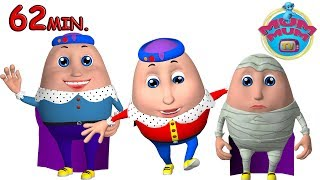 Humpty Dumpty Song with Lyrics & The Best Nursery Rhymes Songs Collection - Mum Mum TV