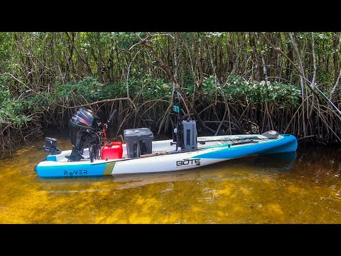 Fishing The Florida Everglades In A Micro Skiff