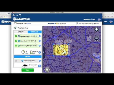 How to set up, download charts, and update your Navionics+ Chart Card