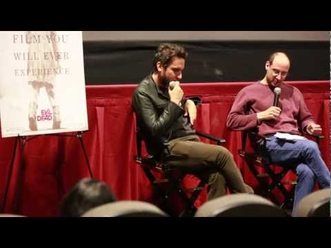 Evil Dead - Q&A with writer/director Fede Alvarez